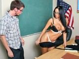 Naughty female teacher fucking her brains out